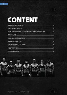 Freeletics Cardio & Strength Training Guide
