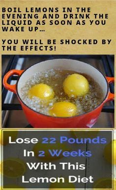 Have a look at this incredible recipe: 6 lemons 20 Oz. of water Honey Preparation: Slice up the 6 Lemons in half and include them to the 20 oz. of water in a pot; Boil the water for 3 minutes; Leav…