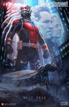 Ant-Man Comic-Con Poster Art
