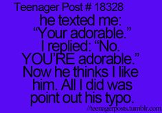 Teenager Posts! Well this is unfortunate! #teenagerposts #humor