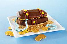 Gâteau coffre aux trésors - Kraft Canada