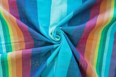 eb24cf74e95 Baby Carrier Wrap Double Rainbow azul pacifico