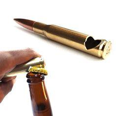 50 Cal bullet bottle opener.