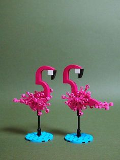 Lego (^o^) Kiddo (^o^) Flamingo | by Azurekingfisher