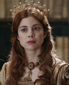 Katharina Von Aragon, Character Inspiration, Fashion Inspiration, Old Fashion Dresses, Catherine Of Aragon, Still Frame, Wars Of The Roses, Period Dramas, Tudor