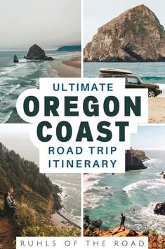 Official Oregon Coast Road Trip Itinerary - Ruhls of the Road