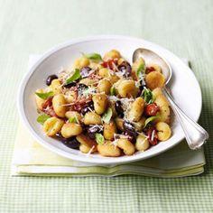Tomato & Olive Gnocchi Recipe - Healthy & Easy Recipes