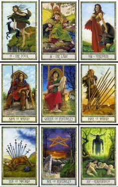 druid craft tarot deck   de druidcraft tarot is gemaakt door de bekende druiden philip ...