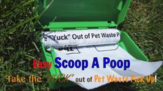 How To Use Easy Scoop A Poop. Product (Scoop A Poop) demonstration on how to use it
