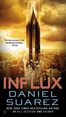 FICTION: Influx by David Suarez.  Thriller about a physicist who discovers a device that can reflect gravity.