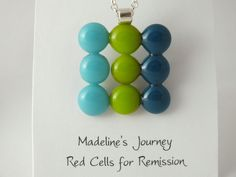 Fused+Glass+Pendant+Modern+Blues+&+Greens+by+madelinesjourney,+$15.00
