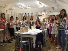 Bunting makes us very happy! How wonderful is this! Here at Bibelot we are happy to create a custom workshop for you and your friends, just get in contact with us for more information. Dressmaking, Bunting, Needle Felting, Workshop, Jewelry Making, Paper Crafts, Sewing, Create, Friends