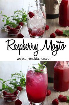 Raspberry Mojito Recipe - Erren's Kitchen