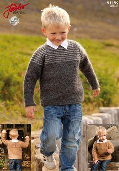 Vintage style Icelandic sweater.