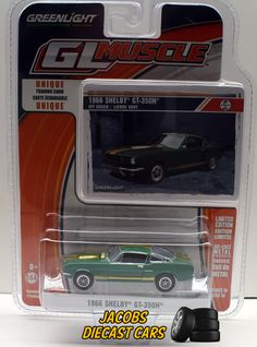 1:64  Greenlight Muscle Series 14 * 1966 SHELBY GT-350H * NICS #Greenlight #Shelby