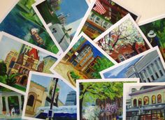 Set One of Boston in a Box! 12 different painted images of Boston scenes  http://wellesley.patch.com/groups/arts-and-entertainment/p/wellesley-native-raises-money-with-art