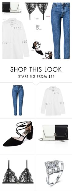 """""""NewChic"""" by s-thinks ❤ liked on Polyvore featuring Christopher Kane, Akris, Alexander McQueen and ootd"""