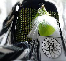 mochila mini decorada