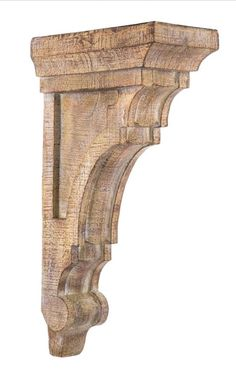 LARGE RUSTIC CORBELS / BRACKETS Tuscan Style Set Of 2 Corbels