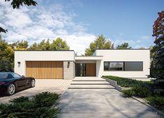 Projekt domu Agos 181,15 m² - koszt budowy - EXTRADOM Beautiful House Plans, Dream House Plans, Beautiful Homes, Dream Houses, Minimalist House Design, Minimalist Home, Steel Framing, Rio 2, House Plans With Photos