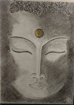 Charcoal Buddha