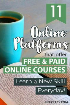 At some point, we look for online courses to learn new skills as part of our education & learning. However, when we do a quick search in Google, we get overwhelmed looking at all the websites. You don't know which one offers free courses and which one offers paid courses. Well, check out this list of 11 online learning platforms offering online courses for students and Entrepreneurs. #education #educationalwebsites #onlinelearning #learning #onlinecourses Best Educational Websites, Learning Websites For Kids, Learning Apps, Educational Crafts, Educational Leadership, Learning Courses, Best Online Courses, Free Courses, Online Websites