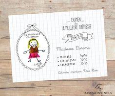 10 idées de cadeaux maison pour la maîtresse