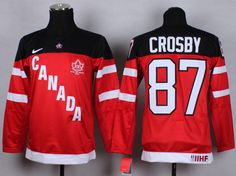 Olympic Canada #87 Sidney Crosby White 100th Anniversary NHL women Jersey