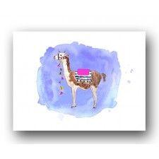 Llama Drama Print