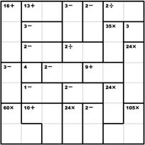 photograph regarding Printable Kenken Puzzles 9x9 identify 7 Great KenKen Puzzles photos within just 2014 Maths puzzles, Cost-free