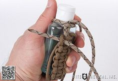 Knot of the Week: Paracord Wrapping a Germ Grenade
