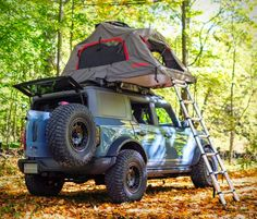 New Bronco, Ford Bronco, Toy Trucks, Monster Trucks, Vw California Camper, Two Person Tent, Car And Driver, Outdoor Recreation, Cars