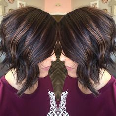 Rich brown and subtle Balayage makes for the perfect fall hair  #balayage #redken #hairenvy