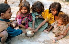 Many people around the world are in poverty and can't afford education, food, water and many other resources like we can.