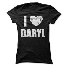 i heart daryl T-Shirts, Hoodies. SHOPPING NOW ==► https://www.sunfrog.com/Movies/i-heart-daryl-Ladies.html?id=41382