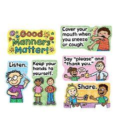 Good Manners Matter Bulletin Board Set - Carson Dellosa Publishing Education Supplies #CDWishList