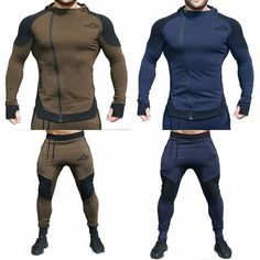 – Arc fit insures the garment is tight in the right places to compliment any physique. We wish your understanding. – Wash at 30 Degrees. – Don't tumble-dry. Mens Tracksuit Set, Full Tracksuit, Sport Fashion, Fitness Fashion, Mens Fashion, Tactical Clothing, Men's Clothing, Track Suit Men, Moda Fitness