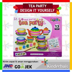 Tea Set Painting DIY