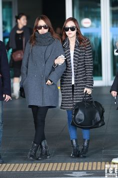 Jessica Yoona Incheon Airport from Shanghai 131201