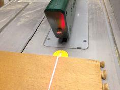 Laser für die PTS 10 Bauanleitung zum selber bauen