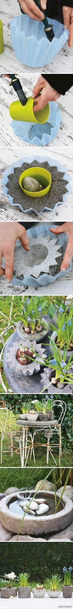 how to make your own flower pots