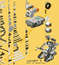 Johnny 5 Lego Mindstorm NXT!