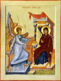 Annunciation by Anton & Ekaterina Daineko