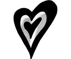 Heart Tattoo Design Pattern Art