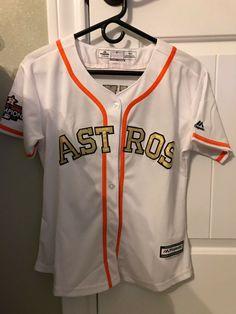 512de7042 Details about Majestic Houston Astros Women's Navy Plus Size Jersey Long  Shorts