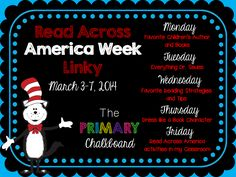 Mrs. Rios Teaches: All Things Seuss and Read Across America - Linky Party all week long!