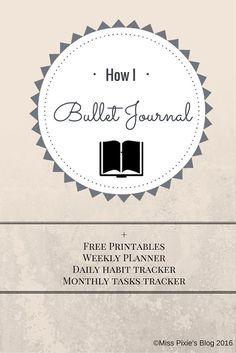 I <3 Bullet Journaling Nederlands/English
