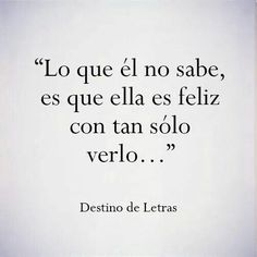 Love quotes for him & for her :guardada en frases amor y desamor Ex Amor, Frases Love, Quotes En Espanol, Love You, Just For You, Mr Wonderful, Love Phrases, More Than Words, Spanish Quotes