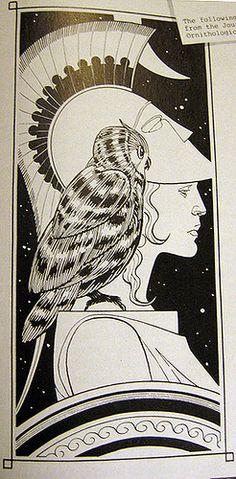 the goddess athena drawing - Google Search