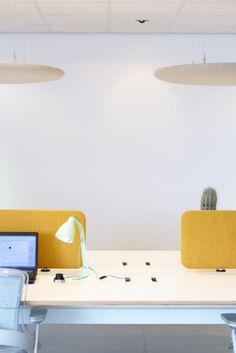 PILLOW - Panneaux acoustiques suspendus - Design Robert BRONWASSER - CASCANDO